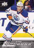 2015 -16 Upperdeck Young Guns Connor Mcdavid rc rookie