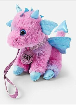 New Justice Pet Shop Fay Flying Dragon Tie Dye Pink Blue Purple FREE SHIP in Box