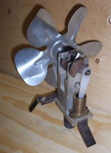 Hot Air/Stirling Engine - Fan (similar to steam engine)