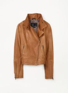XXS Aritzia Mackage Kenya Brown leather Jacket
