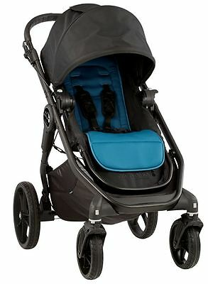 Baby Jogger City Premier Reversible Seat Single Stroller Black / Teal NEW 2016