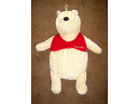 Two Winnie the Pooh Hot Water Bottles