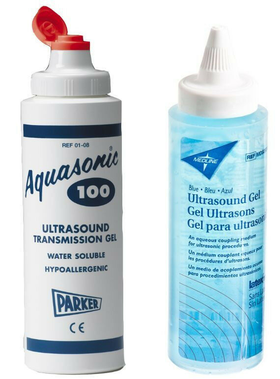 New! Ultrasound Transmission Gel 8.5 OZ. Squeeze Bottle,Aquasonic100 Replacement