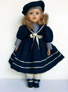 Vanessa doll Porcelain doll by Vanessa Ricardi, Series 1997 West Island Greater Montréal image 1