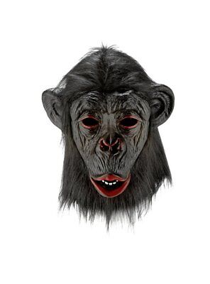 Chimpanzee Face Mask Fancy Dress Party Halloween Costume Fast Shipping from U.K.