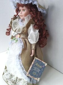 Porcelain Doll Rebecca Collection on Collector  Stand West Island Greater Montréal image 2