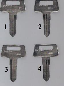 Replacement Key Blank Fits Kawasaki ATV 4 Wheeler Models