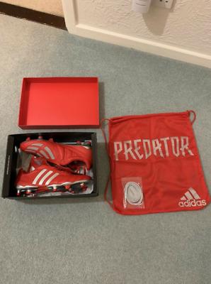 Adidas Predator Mania Remake FG Football Boots 2019 Red UK 10 BNIB | RED