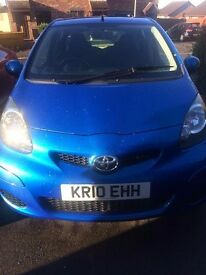 Toyota Aygo FULL SERVICE HISTORY, LOW MILEAGE, SMALL ENGINE, £20 YEARLY TAX