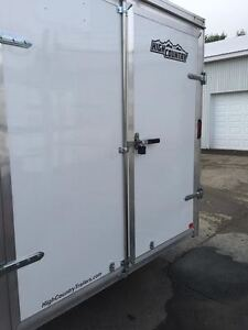 New 2015 High Country 7x16 Aluminum Trailer