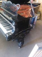 Piano Baby Grand , Weber 6 ft 6 inch .. Excellent Condtion