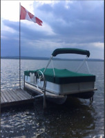 To Rent A Boat Dock on the east end of Sturgeon Lake