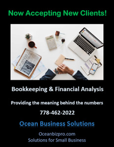 Bookkeeping/Accounting for small business