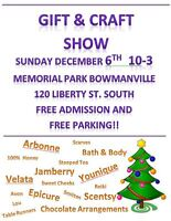 Vendors Wanted for Gift and Craft Show December 6th
