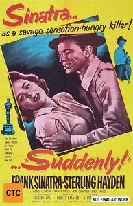 Suddenly! (DVD,)*R4*New & Sealed*Frank Sinatra