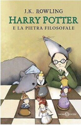Harry Potter E La Pietra Filosofale 1 j. K. Rowling copertina flessibi ITALIANO
