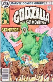 Marvel Comics Group: Godzilla king of the monsters issue #15