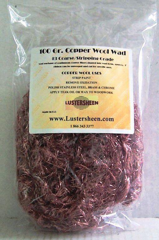 Copper Wool 3.5 Oz Skein - Coarse