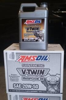 20w-50 gallon Amsoil full synthetic oil for V-Twin, Mv Agusta, HD