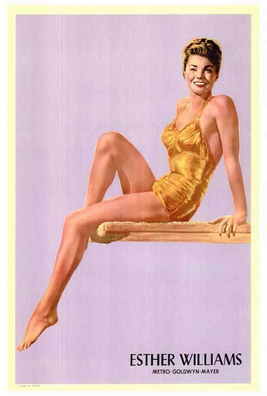 ESTHER WILLIAMS Movie POSTER 27x40 Esther Williams