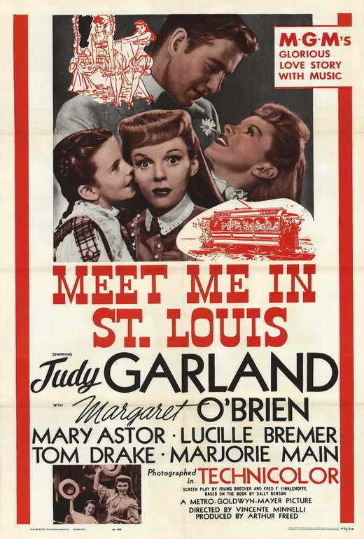 MEET ME IN ST. LOUIS Movie POSTER 27x40 Judy Garland Margaret O