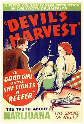 DEVIL'S HARVEST Movie POSTER 27x40 B June Doyle Leo Anthony George Graham Ben
