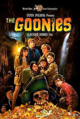 The Goonies Movie Poster 27 X 40 Sean Astin  Josh Brolin  C  Licensed New