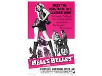 "/""HELLS BELLES/""  Movie Poster A1A2A3A4Sizes"