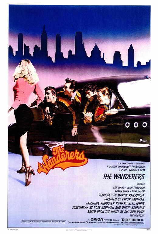 THE WANDERERS Movie POSTER 27x40 Ken Wahl John Friedrich Karen Allen Linda Manz