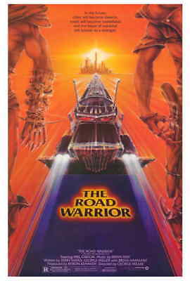 Mad Max 2: The Road Warrior (1981) Style-A Mel Gibson George Miller Poster