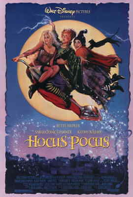 Hocus Pocus 1993 Sarah Jessica Parker Bette Midler Halloween Movie Poster 27x40 - Halloween Movie Sarah Jessica Parker