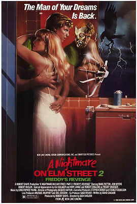 "A NIGHTMARE ON ELM STREET 2 Movie Poster [Licensed-NEW-USA] 27x40"" Theater Size"