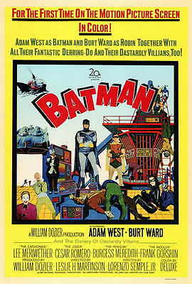 BATMAN Movie Poster [Licensed-New-USA] 27x40