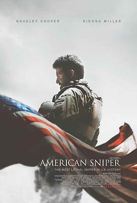 American Sniper Movie Poster 27 X 40 Bradley Cooper  B  Licensed New