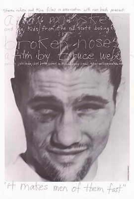BROKEN NOSES Movie POSTER 27x40 Andy Minsker Sean Bedwell Aaron Berry - Broken Noses