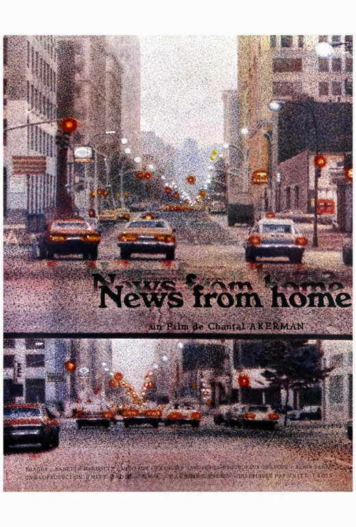 NEWS FROM HOME Movie POSTER 27x40 Chantal Akerman