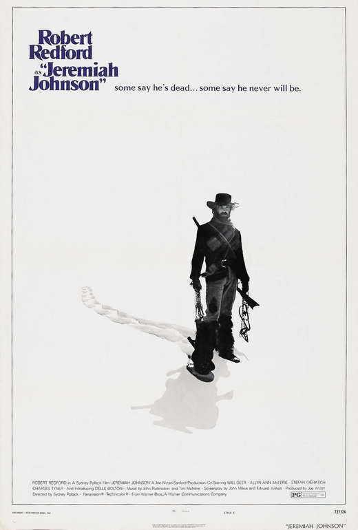 JEREMIAH JOHNSON Movie POSTER B 27x40 Robert Redford Will Geer Stefan Gierasch