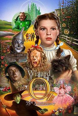 """THE WIZARD OF OZ  Movie Poster [Licensed-NEW-USA] 27x40"""" Theater Size  75th Ann."""