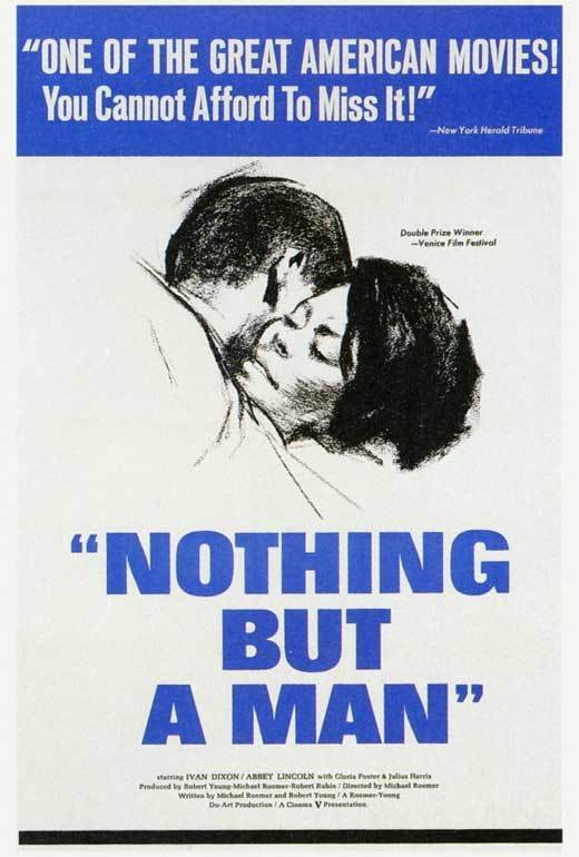 NOTHING BUT A MAN Movie POSTER 27x40