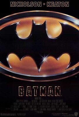 BATMAN (1989) Movie Poster [Licensed-New-USA] 27x40