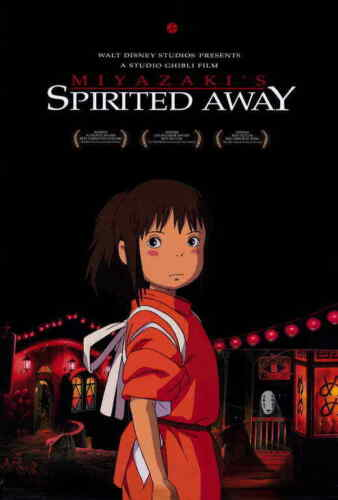"""SPIRITED AWAY Movie Poster 27x40"""" Theater Size - Licensed   New   USA"""
