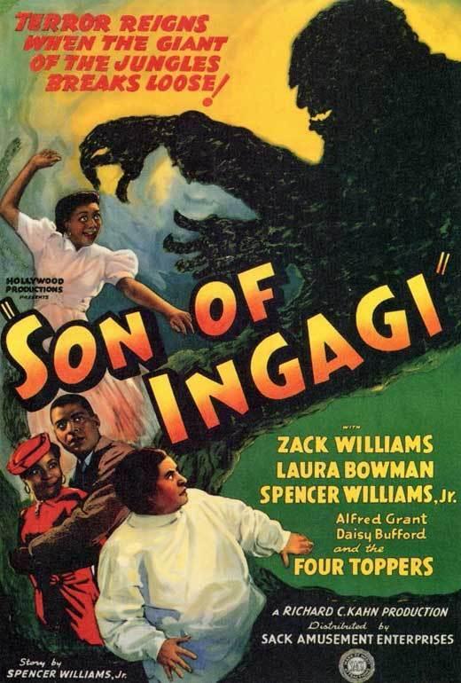 SON OF INGAGI Movie POSTER 27x40