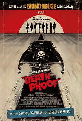 """DEATH PROOF Movie Poster [Licensed-NEW-USA] 27x40"""" Theater Size (Grindhouse)"""