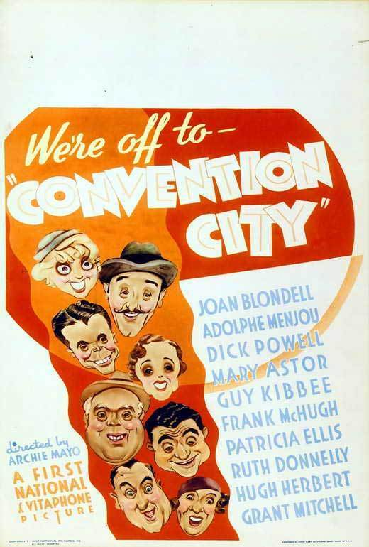 CONVENTION CITY Movie POSTER 27x40