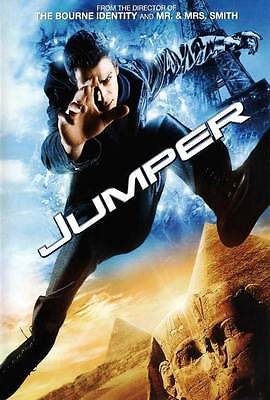 Jumper Movie Poster 27X40 C Hayden Christensen Samuel L  Jackson Diane Lane