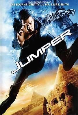 Jumper Movie Poster 27X40 C Hayden Christensen Samuel L  Jackson Diane Lane