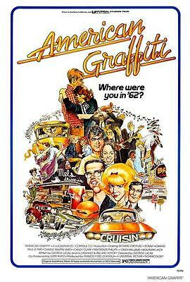 American Graffiti Movie Poster 27 X 40  Ron Howard  A  Licensed New
