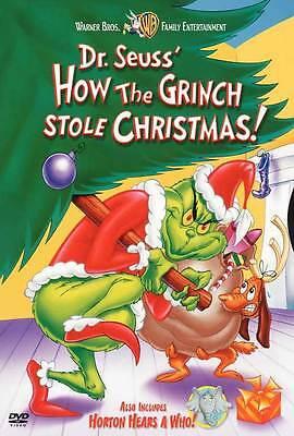 HOW THE GRINCH STOLE CHRISTMAS Movie POSTER 27x40 B Boris Karloff