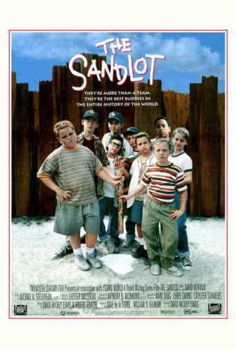 The Sandlot (1993) Style-A Tom Guiry Mike Vitar Patrick Renna Movie Poster 27x40