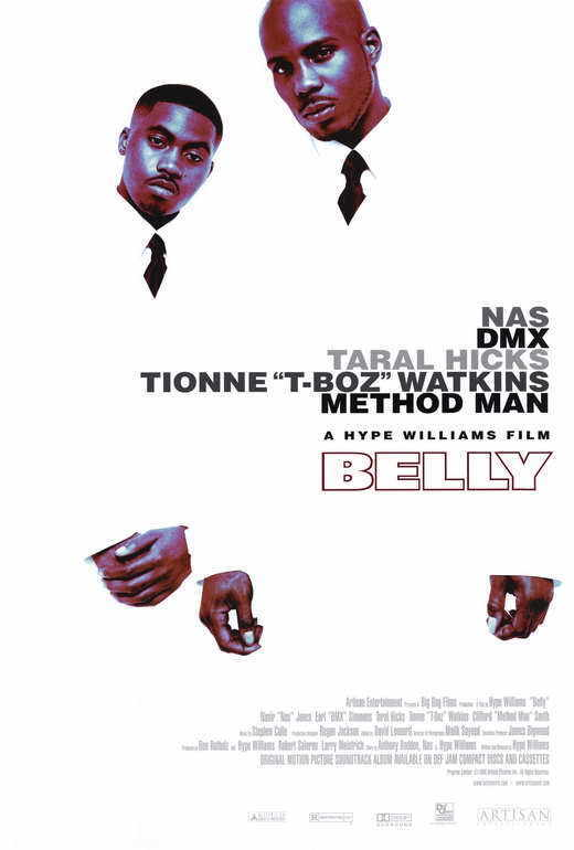 BELLY Movie POSTER PRINT 27x40 Nas DMX Taral Hicks